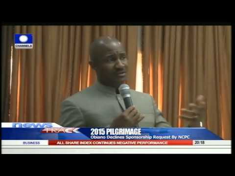 Anambra State Government Declines To Sponsor 2015 Pilgrims