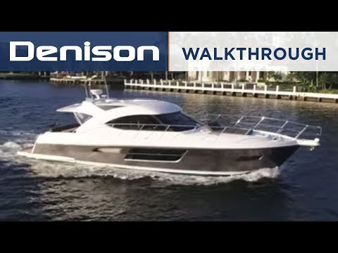 Riviera 5000 Sport Yacht [Walkthrough]
