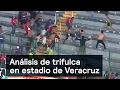 Análisis de trifulca en estadio de Veracruz - Violencia - Denise Maerker 10 en punto