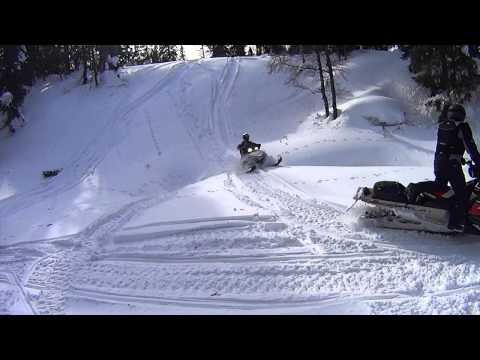 Снегоход из мотоцикла своими руками
