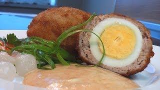 Яйца по-шотландски . Очень вкусно!