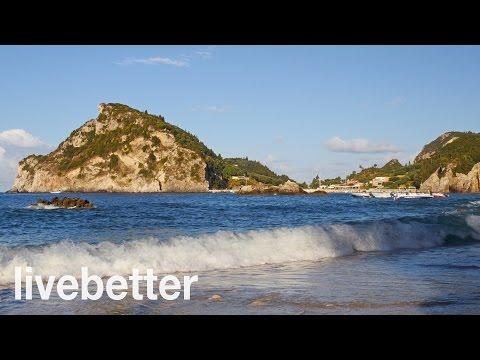 Sonido de Olas del Mar en Playa Relajante para Dormir - Marea Suave de Naturaleza en Calma en Arena