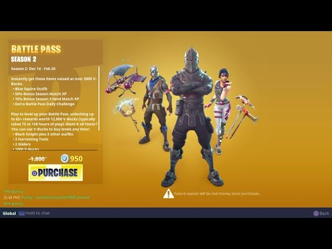 Buying Season 2 Battle Pass | 14 Kills