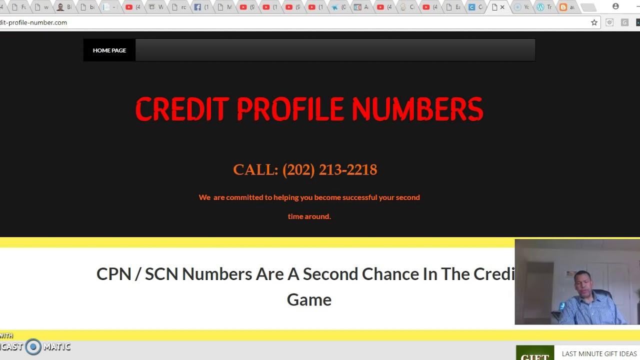 cpn number scn credit profile number 3 more reasons to choose us