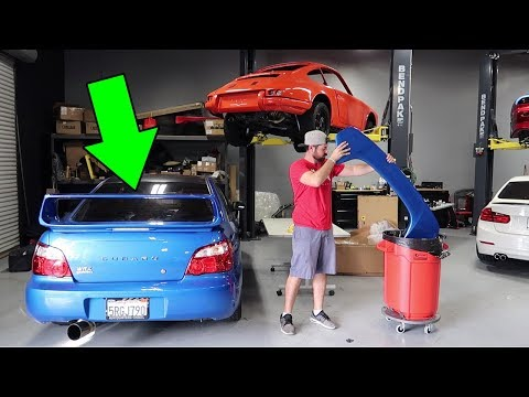 INSTALLING A BIG WING ON THE WRX! (+BONUS: TUNING THE TURBO 86)