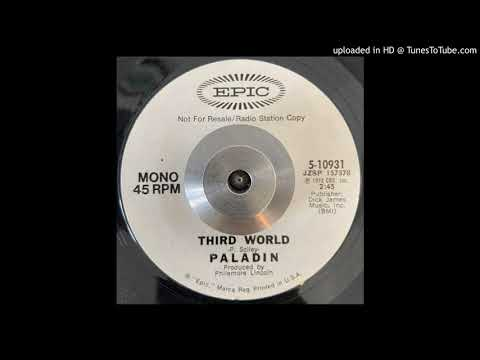Paladin - Third World (Epic) 1972 - PROG PSYCH PERCUSSION POETRY