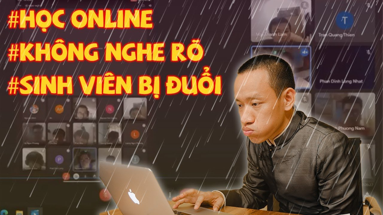 Sinh viên BỊ ĐUỔI khỏi lớp online vì..không nghe rõ lời thầy - ĐÚNG hay SAI? Nguyễn Hữu Trí Reaction