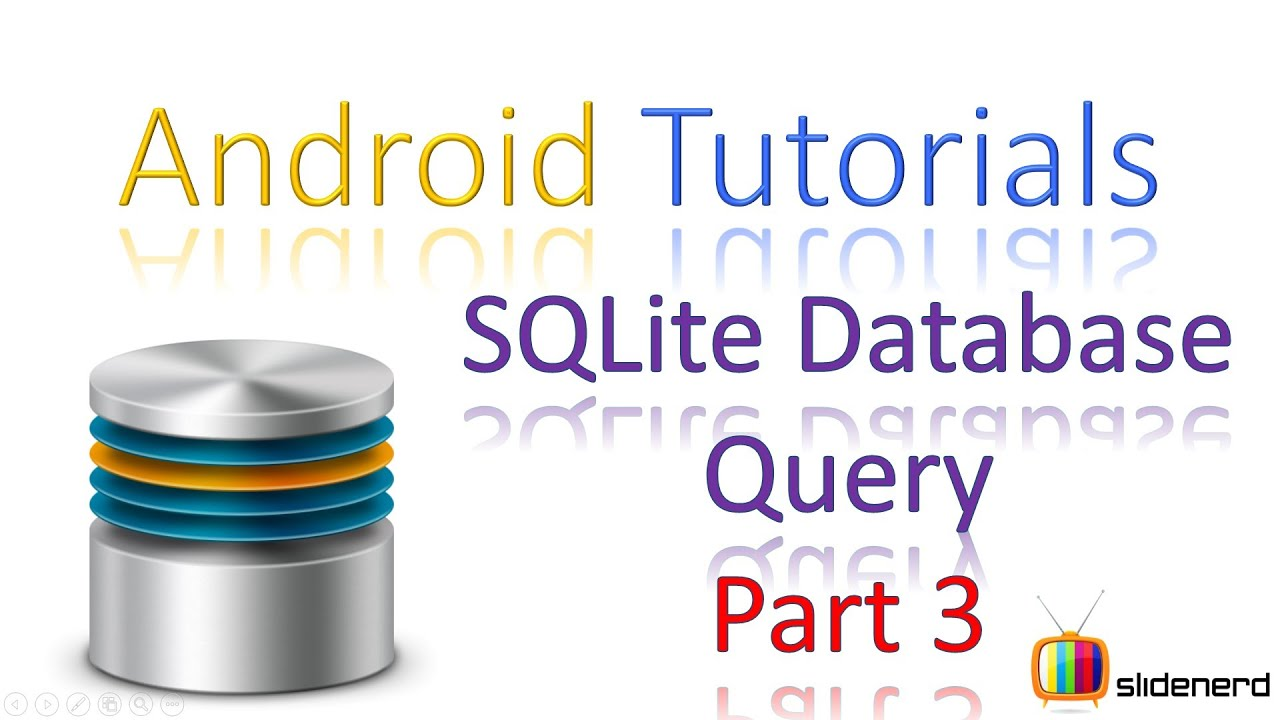 166 Android SQLite SELECT query Part 3 |