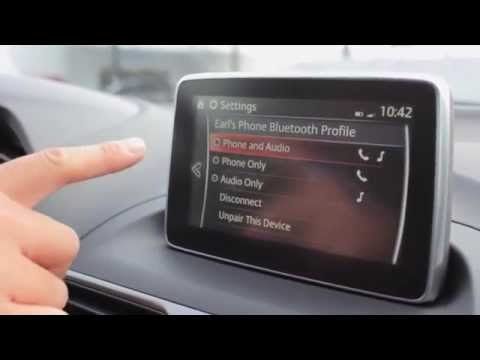 How to pair phone Bluetooth with 2015 Mazda3 | Capitol Mazda