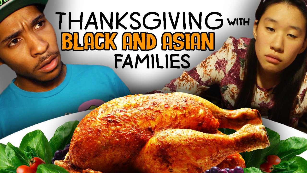 maxresdefault thanksgiving with black and asian families youtube