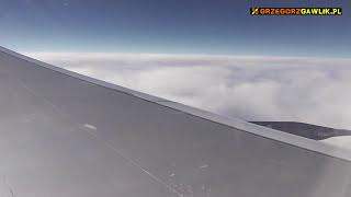 Dubai - Warsaw flight (Airbus A330-200, Emirates) / Lot z Dubaju do Warszawy