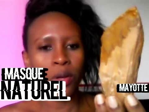 """MASQUE DE BEAUTE RAJEUNISSANT DE MAYOTTE """"le MSINDZANO"""" 2"""