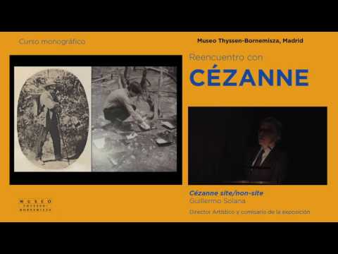 Cézanne site / non-site