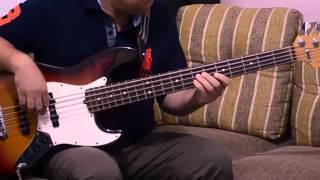 Blue cha-cha Bass cover
