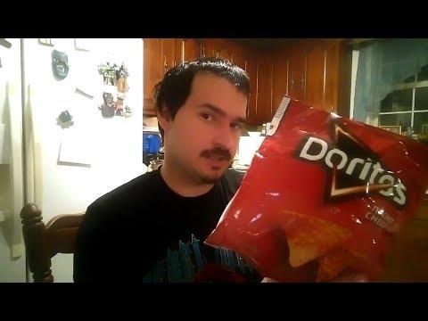 doritos-nacho-cheese-flavored-tortilla-chips---frito-lay-food-review