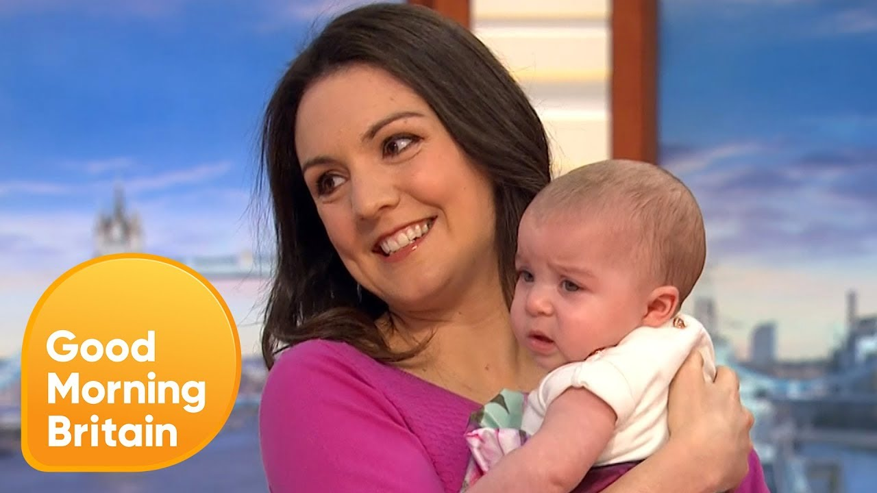 Laura Tobin Is Here With Her New Baby Girl Good Morning Britain