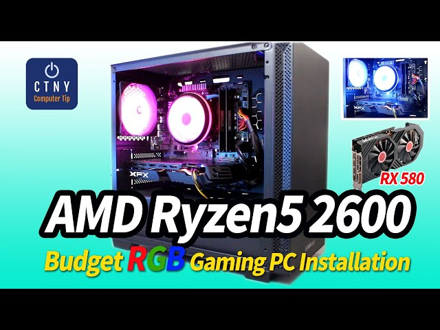 Build the Ultimate 1080P Gaming PC for less than $600 in 2020