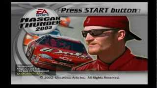 NASCAR THUNDER 2003 Intro (PS2)