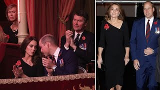 Duchess Kate Middleton stunned in black Roland Mouret dress at the Royal Festival of Remembrance