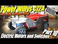 Mini Willys CJ2A Part 10: Electric Motors and Welding Patch Panels. Also How to Make it faster...