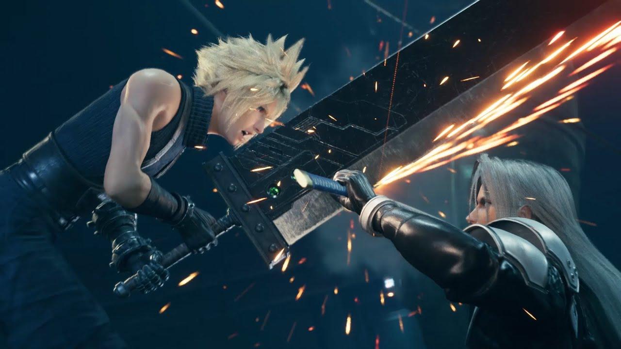 Final Fantasy Vii Remake テーマソング発表記念トレーラー Youtube