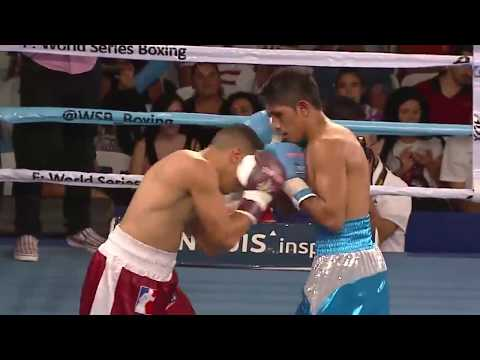 52kg Cristian CHOQUE (Condors Argentina) vs Eduar BERMUDEZ SALAS (Caciques Venezuela)
