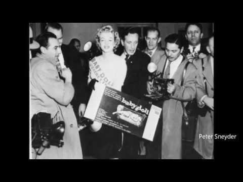 Marilyn Monroe  tes the play Baby Doll 1956.   RARE