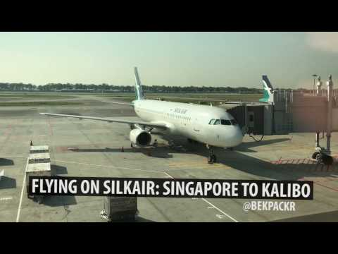 SilkAir Flight Experience: Singapore to Kalibo (MI 599) | bekpackr