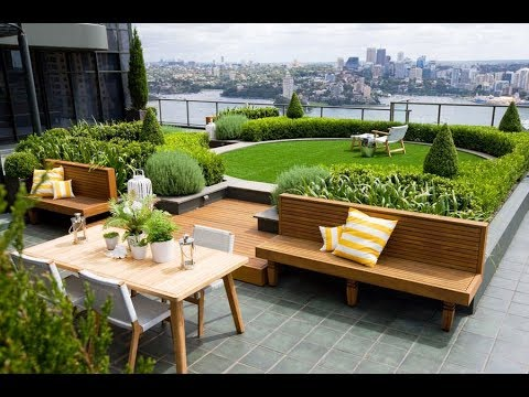 35 Amazing Rooftop Garden Design Ideas