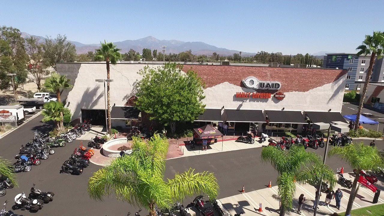 Eagle Run - Quaid Harley Davidson - Loma Linda, CA PT. I - YouTube