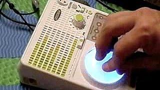 Demo of the UCREATE multi-fx sampler