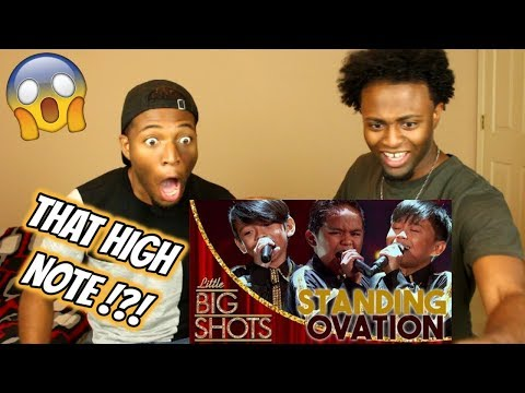 TNT Boys - Somebody To Love | Little Big Shots | REACTION
