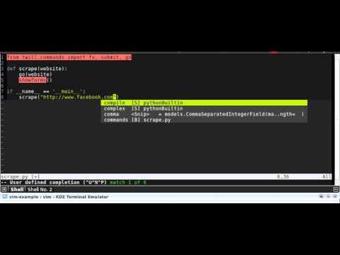 VIM Netbeans for editing Python, JS, Ruby, PHP, Less, etc
