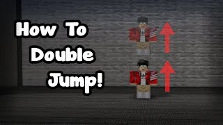 MY MAP GIVES YOU INFINITE/DOUBLE JUMP! | ROBLOX FE2 Map Test