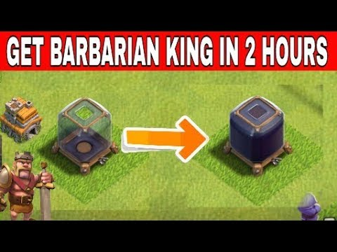 Most Amazing Tip - How To Get Barbarian King In 2 Hours !!!