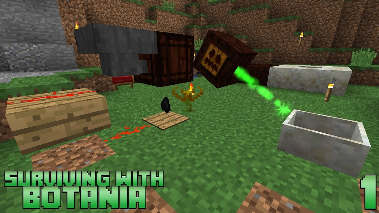 botania how to get started