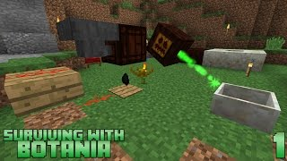 Surviving With Botania :: E01 - Getting Started