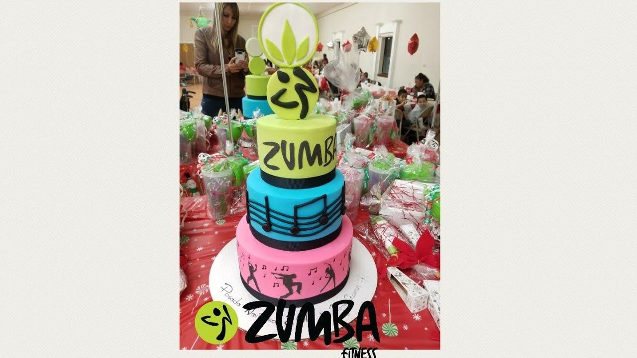 Zumba Cake Pastel De Zumba Youtube