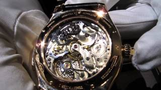 Montblanc Villeret Metamorphosis 2 - case back and movement