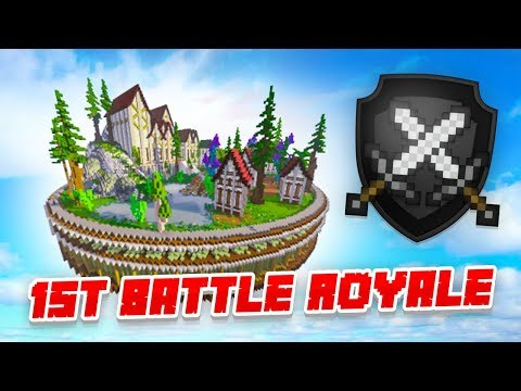 MY FIRST BATTLE ROYALE! - Minecraft SKYBLOCK #2 (Season 3)