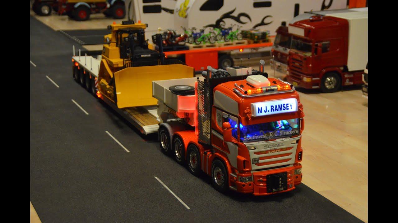 Tamiya RC Scania Heavy Haul - YouTube