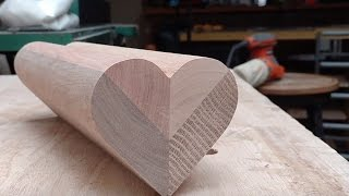 Wood Heart Coasters!