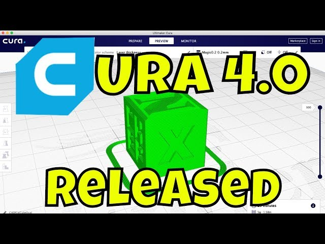 CURA 4.0 vs CURA 3.6 3D Printing Slicer Feature Review