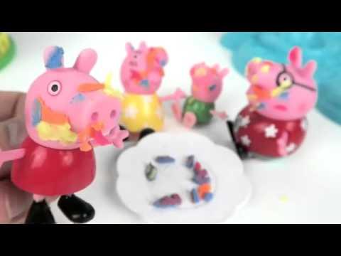 Peppa Pig свинка Пеппа и ее друзья. Мультфильм для дет ...