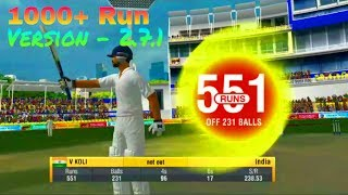 Wcc2 Test Cricket Gameplay | World Cricket championship 2 | Version 2.7.1