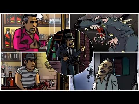 Guns, Gore & Cannoli - All Bosses (Boss Fights)  