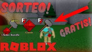 SORTEO! KITS CLASSIC | FLEE THE FACILITY | ROBLOX | 17_SANTI