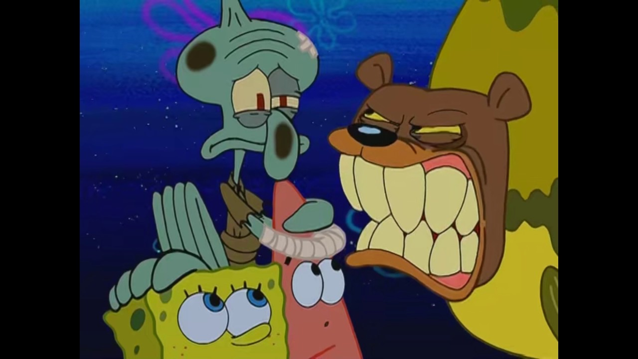 that was an oval it has to be a circle spongebob seabear youtube
