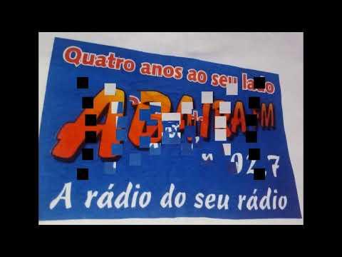 ARQUIVO PESSOAL Locutor Gilmar brito e André Sousa ABAÍRA FM 92,7   inicio DA RADIO RCA FM 104,9
