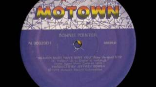BONNIE POINTER - Heaven must have sent you (12 inch - 1979)